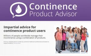 continence product advisor flyer