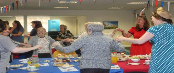 Disabled Living Dementia Tea Dance