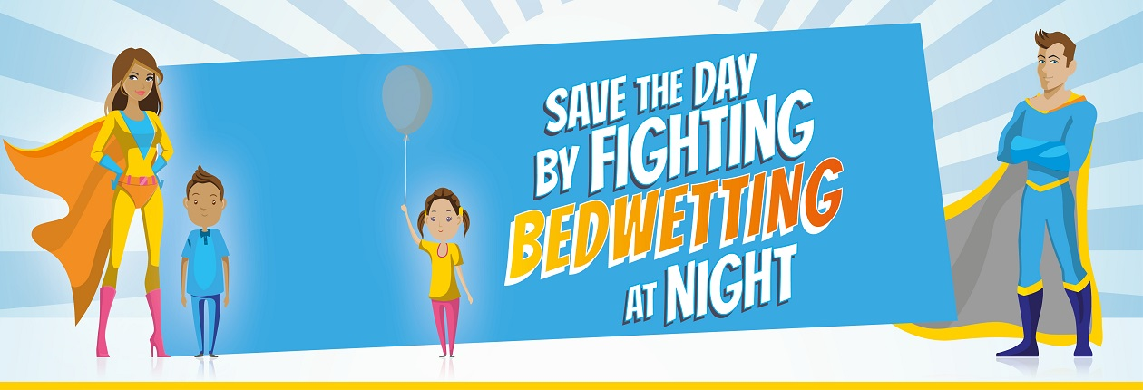 World bedwetting day ferring slider