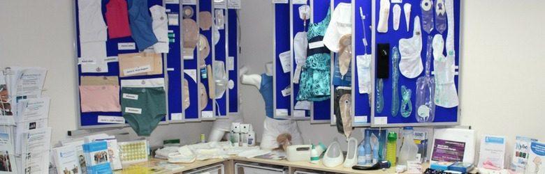 bbuk display of bladder and bowel products
