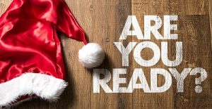 are you ready with christmas hat