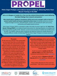 propel event marketing leaflet