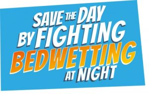 save the day by fighting bedwetting at night graphic