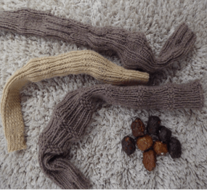 Knitted Colon and Poo