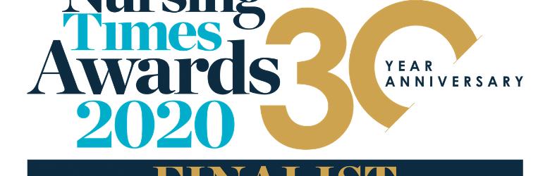 Nursing Times award finalist