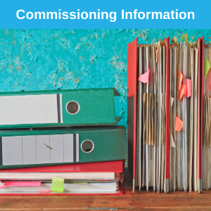 Commissioning information button