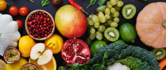 National Nutrition month - fruit and vegetables