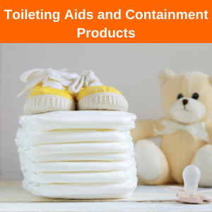 Toileting Aids and Containment Products (Children) Button BBUK